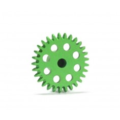 Sloting Plus SP072329 Corona ángulo 29 dientes verde