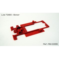 RED SLOT RS-0055 CHASIS 3D LOLA T280 SLOTER