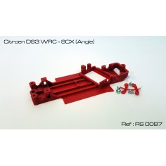 RED SLOT RS-0087 CHASIS 3D CITROEN DS3 WRC SCX (ANGLE)