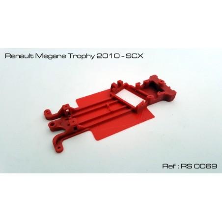 RED SLOT RS-0069 CHASIS 3D RENAULT MEGANE TROPHY 2010 SCX
