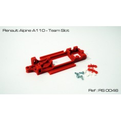 RED SLOT RS-0046 CHASIS 3D RENAULT ALPINE 110 TEAM SLOT