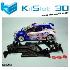 KILSLOT KS-DCN4A chasis 3d angular DUAL COMP Peugeot 207 AVANT