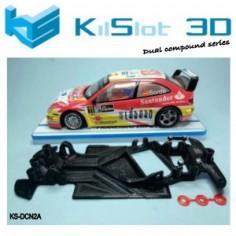 Kilslot KS-DCN2A Chasis 3d angular DUAL COMP Citroen Xsara PRO Scalextric