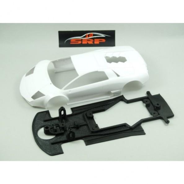 3DSPR 04SRC Chasis 3d doble componente Lamborghini Murcielago Black Bull Black Arrow