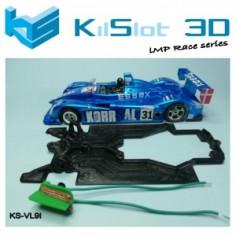 Kilslot VL9I Chasis 3d Chasis Race bancada indepediente Porsche Spyder Avant