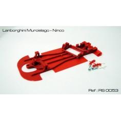 CHASIS 3D LAMBORGHINI MURCIELAGO NINCO RED SLOT