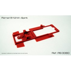 RED SLOT RS-0060 CHASIS 3D FERRARI 512 M SPIRIT