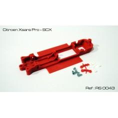 CHASIS 3D CITROEN XSARA PRO SCX RED SLOT