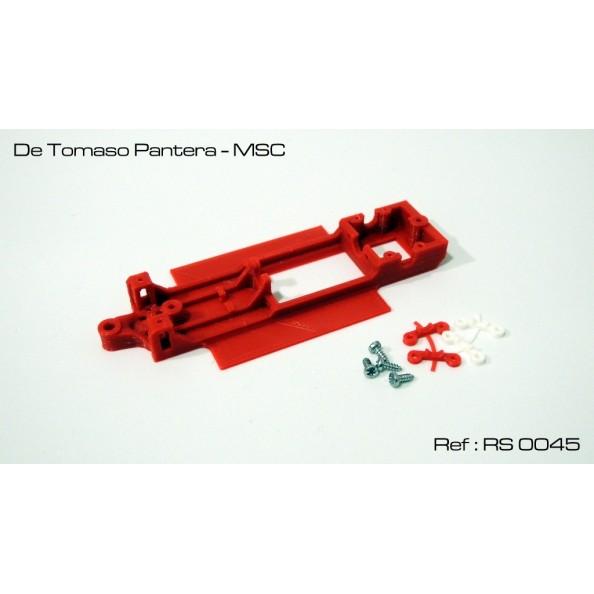 RED SLOT RS-0045 CHASIS 3D DE TOMASO PANTERA MSC