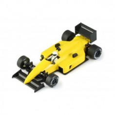 Coche slot NSR 0119 Formula 1 86/89 test car amarillo