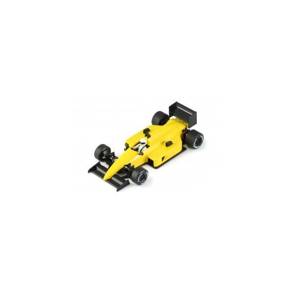 Coche slot NSR 0119 Formula 1 86/89 test car amarillo