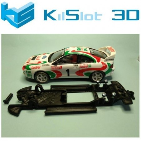 KILSLOT KS-BC3B CHASIS 3D LINEAL BLACK TOYOTA CELICA GT4 FOUR ST205 SCX