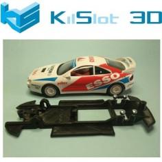 KILSLOT KS-BC2B CHASIS 3D LINEAL BLACK TOYOTA CELICA GT4 FOUR ST205 NINCO