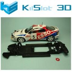 KILSLOT CHASIS 3D LINEAL BLACK TOYOTA CELICA GT4 ST185 TEAM SLOT