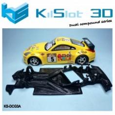 Kilslot KS- DCG3A Chasis 3d angular DUAL COMP Nissan 350Z Power Slot