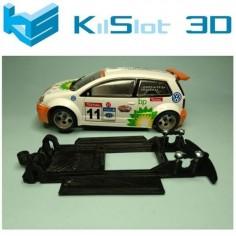 CHASIS 3D LINEAL BLACK VOLKSWAGEN POLO S1600 POWERSLOT KISLOT