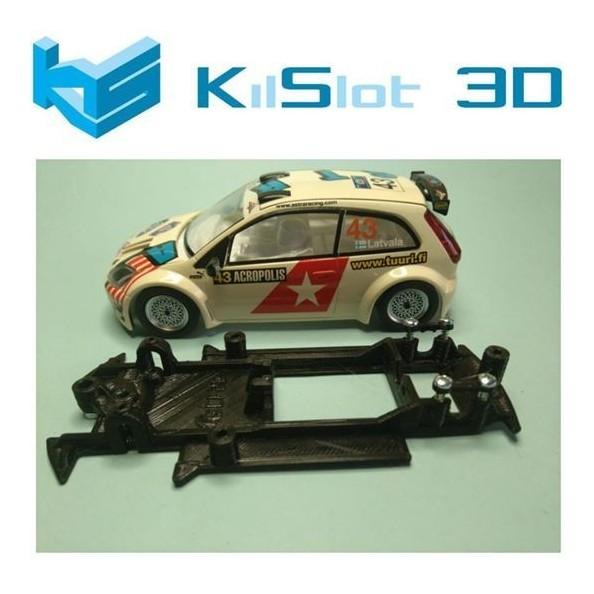 KILSLOT KS-CF2B CHASIS 3D LINEAL BLACK FORD FIESTA S1600 SCX