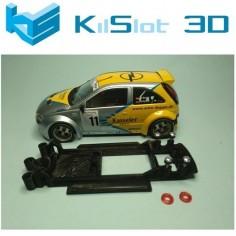 KILSLOT KS-CC8B CHASIS 3D LINEAL BLACK OPEL CORSA S1600 SLOTER