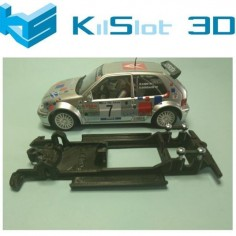 KILSLOT KS-CC7B CHASIS 3D LINEAL BLACK CITROEN SAXO S1600 NINCO