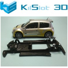 KILSLOT KS-CC6B CHASIS 3D LINEAL BLACK RENAULT CLIO S1600 NINCO