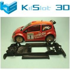 KILSLOT KS-CC3B CHASIS 3D LINEAL BLACK CITROEN C2 S1600 SCX