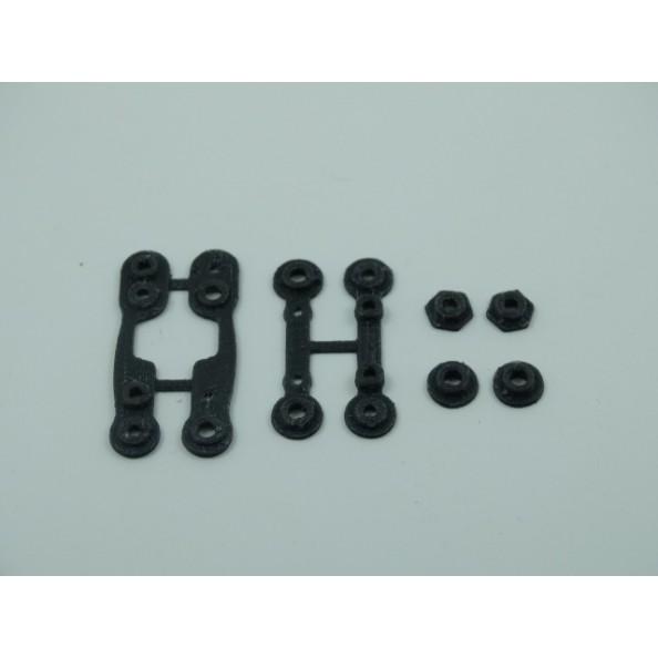 3D SRP 018101 Puente estabilizador de suspensión muelles Black Arrow