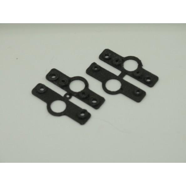 3D SRP 018106 Puente estabilizador de la suspensión para muelles Black Arrow y Slot.it