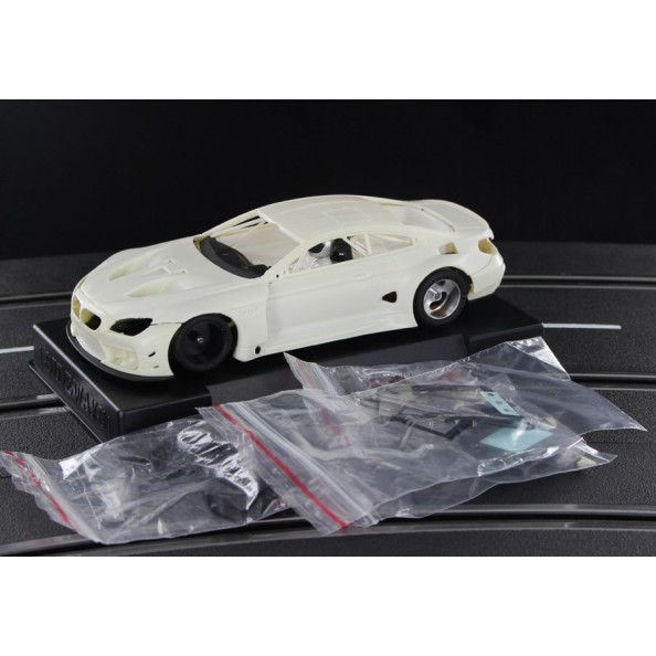 Sideways RC-SWCAR03K BMW M6 GT3 White Racing Kit