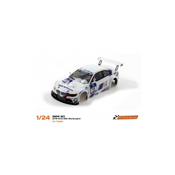 Scaleauto SC-7022B Carrocería BMW M3 GTR-GT2 24h Nurburgin