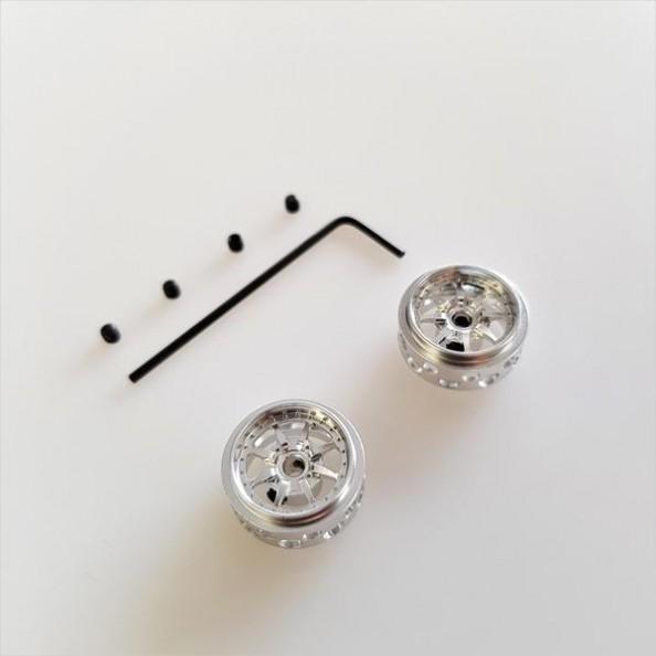 SRC RM0606 Llantas BRAID silver 15,8x8,4 mm