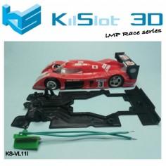 Kilslot KS-VL11I Chasis 3d Race Bancada independiente Toyota GT ONE Scaleauto