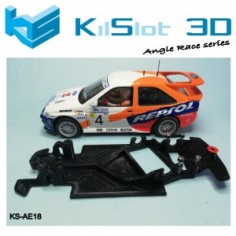Kilslot KS-AE18 Chasis 3d Race soft Ford Escort RS Cosworth SCX