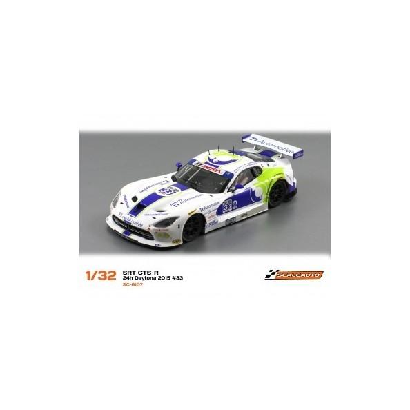 SCALEAUTO SC-6107 SRT VIPER GTS-R EXCHANGE 33 24H. DAYTONA 2015
