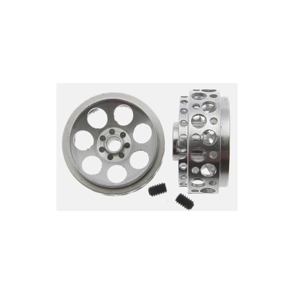Scaleauto SC-4052D Llanta aluminio 17.5x8.5mm Monza-2