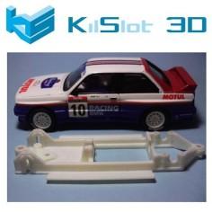 KILSLOT KS-CM1 CHASIS 3D LINEAL BMW M3 SCX ALTAYA