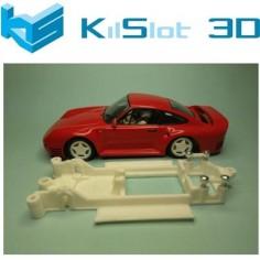 CHASIS 3D LINEAL PORSCHE 959 MSC KILSLOT