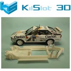 KISLOT KS-BA5 CHASIS 3D LINEAL AUDI QUATTRO TEAM SLOT