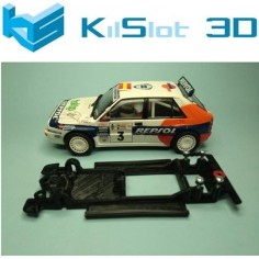 KILSLOT KS-CD1B CHASIS 3D LINEAL BLACK LANCIA DELTA INTEGRALE SCX