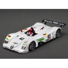 ARROW SLOT AR-1002A V12 LMR Sebring 1999 Winner con Chassis RT-3 LWB In-Line