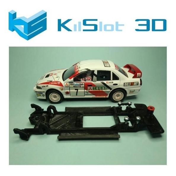KILSLOT KS-CE3B CHASIS 3D LINEAL BLACK MITSUBISHI LANCER EVO IV SCX