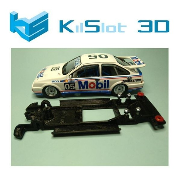 KILSLOT KS-CS1B CHASIS 3D LINEAL BLACK FORD SIERRA NINCO