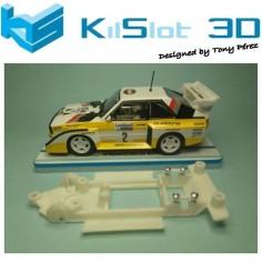 KILSLOT KS-BA1 CHASIS 3D LINEAL AUDI QUATTRO S1 REVELL