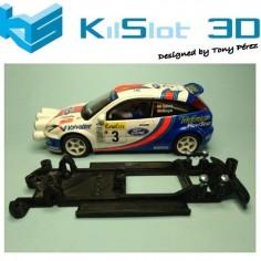 KILSLOT KS-CF1B CHASIS 3D LINEAL BLACK FORD FOCUS WRC SCX