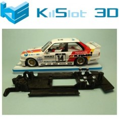 KILSLOT KS-VM3B CHASIS 3D LINEAL BLACK BMW M3 E30 FLY VERSIÓN PISTA PARA MOTOR FLAT