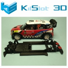 KILSLOT KS-NM1B CHASIS 3D LINEAL BLACK MINI WRC CARRERA