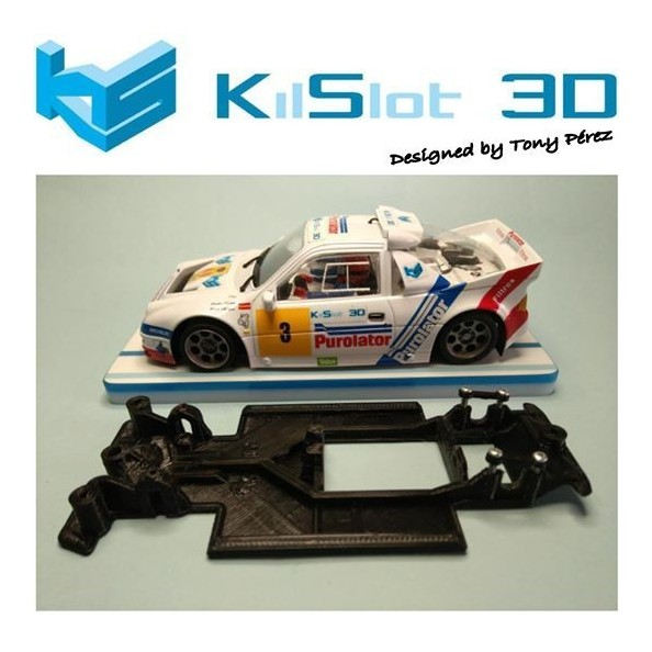 KS-RC2S CHASIS 3D LINEAL RACE SOFT 2017 FORD RS2000 MSC