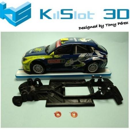 KILSLOT KS-RN5S CHASIS 3D LINEAL RACE SOFT 2017 SUBARU N14 AVANT