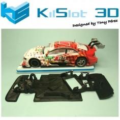 KILSLOT KS-VA5S CHASIS 3D ANGULAR RACE SOFT 2017 AUDI A5 DTM SCX