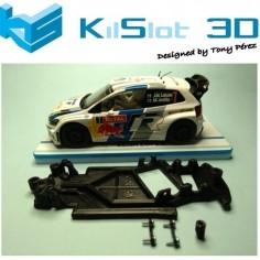 CHASIS 3D ANGULAR RACE SOFT 2017 VOLKSWAGEN POLO WRC SUPERSLOT KISLOT