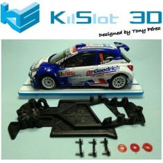 KILSLOT KS-AX4S CHASIS 3D ANGULAR RACE SOFT 2017 PEUGEOT 207 AVANT